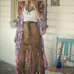 ISO This Enchanted Forest Kimono